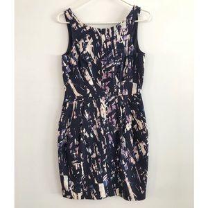 Club Monaco Abstract Print Dress